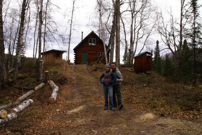 Alaska wilderness cabin