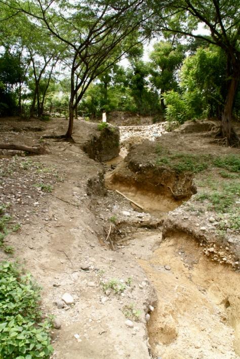 Haiti washed out