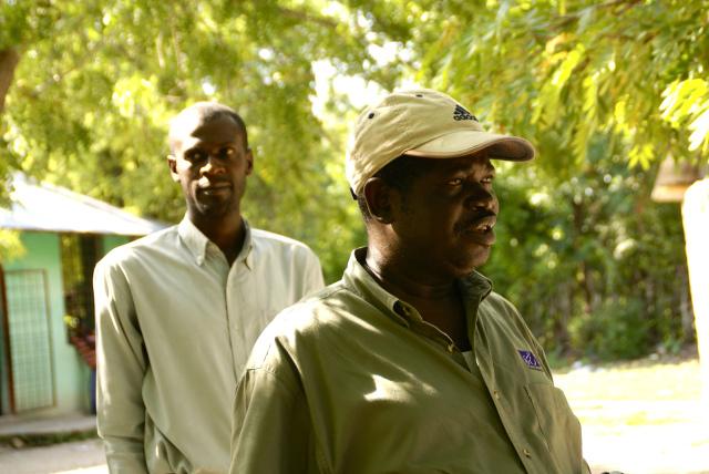 Haitian pastor