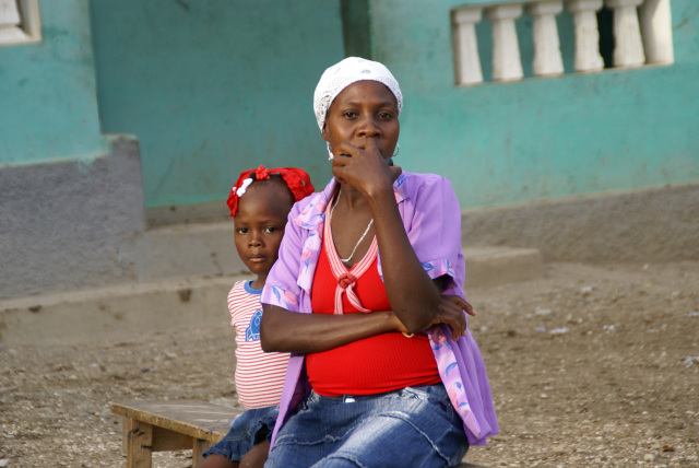Haitian mother
