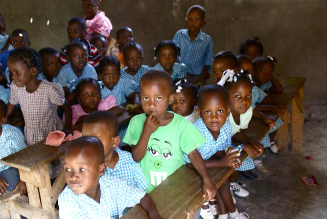 Haitian preschoolers