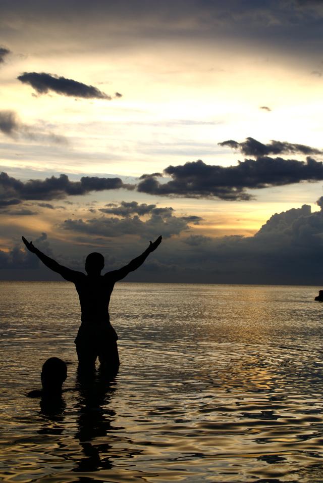 Haiti silhouette