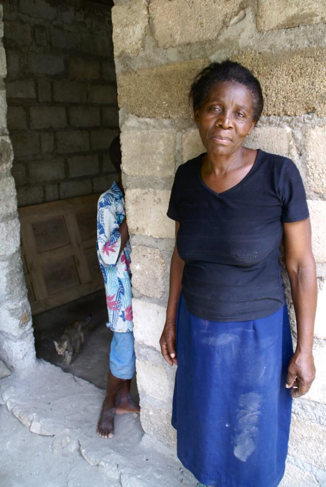 Haitian woman home