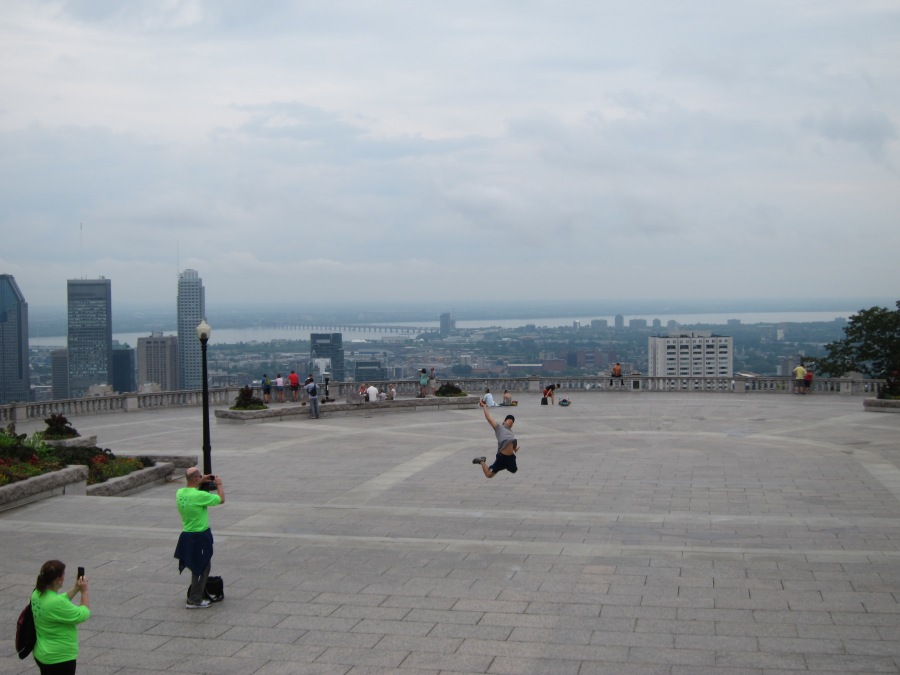 Mont Royal overlook