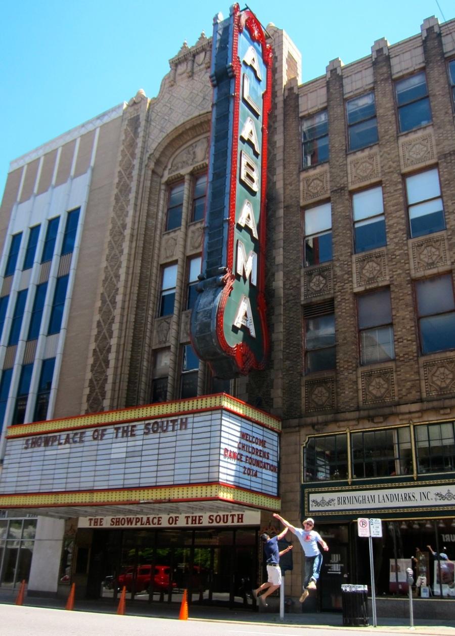 Alabama Theater, Birmingham | Intentional Travelers