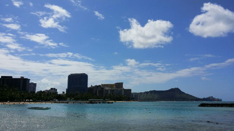 Waikiki from marina | Intentional Travelers