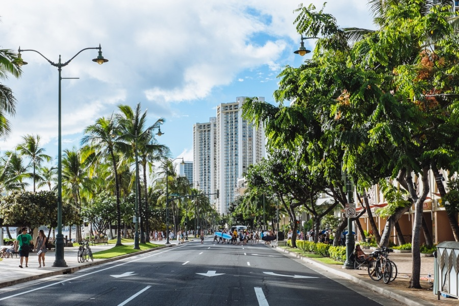 Waikiki Running Walking Route | Intentional Travelers