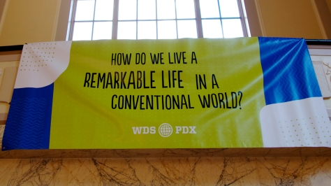 """How do we live a remarkable life in a conventional world?"""