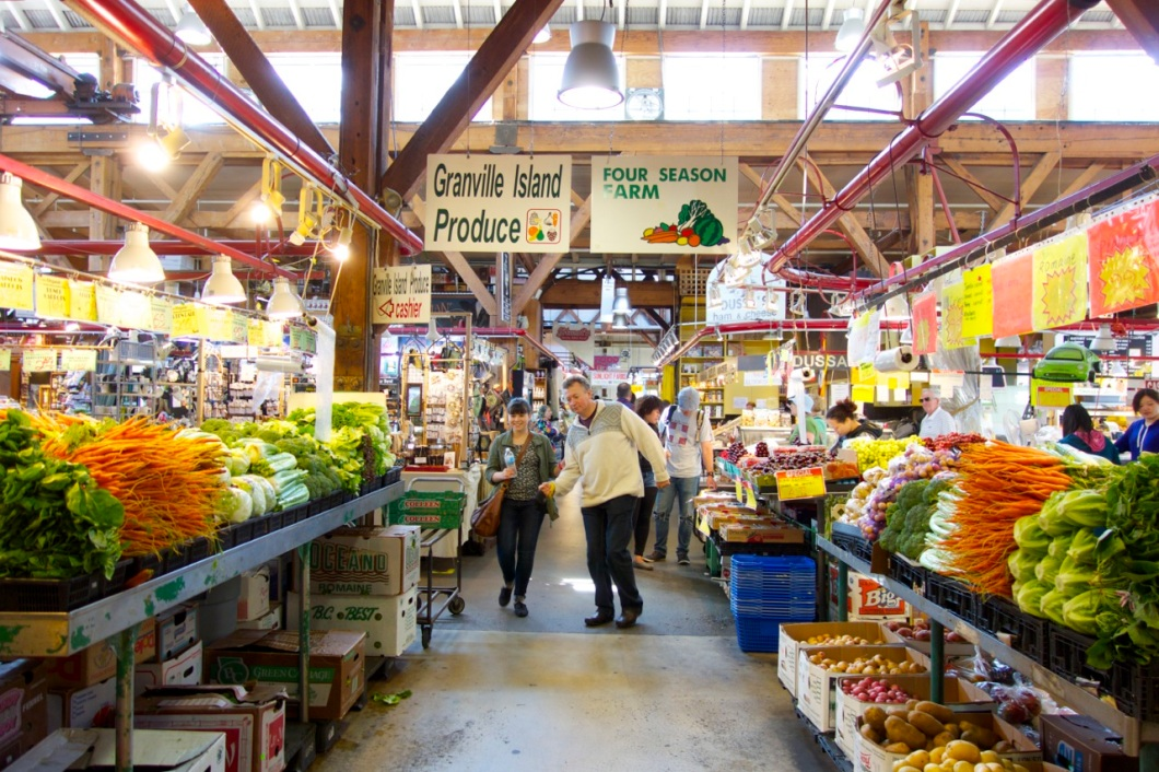 Granville Island Market, Vancouver BC | Intentional Travelers