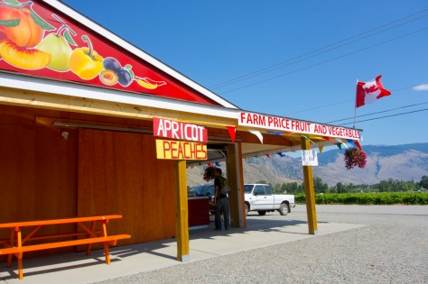 British Columbia fruit stand |Intentional Travelers