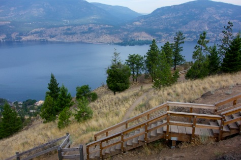 Knox Mountain Park, Kelowna, BC | Intentional Travelers