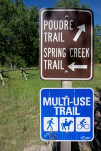 Well-marked multi-use trails