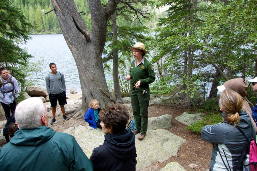 Bear Lake Ranger program, Rocky Mountain National Park   Intentional Travelers