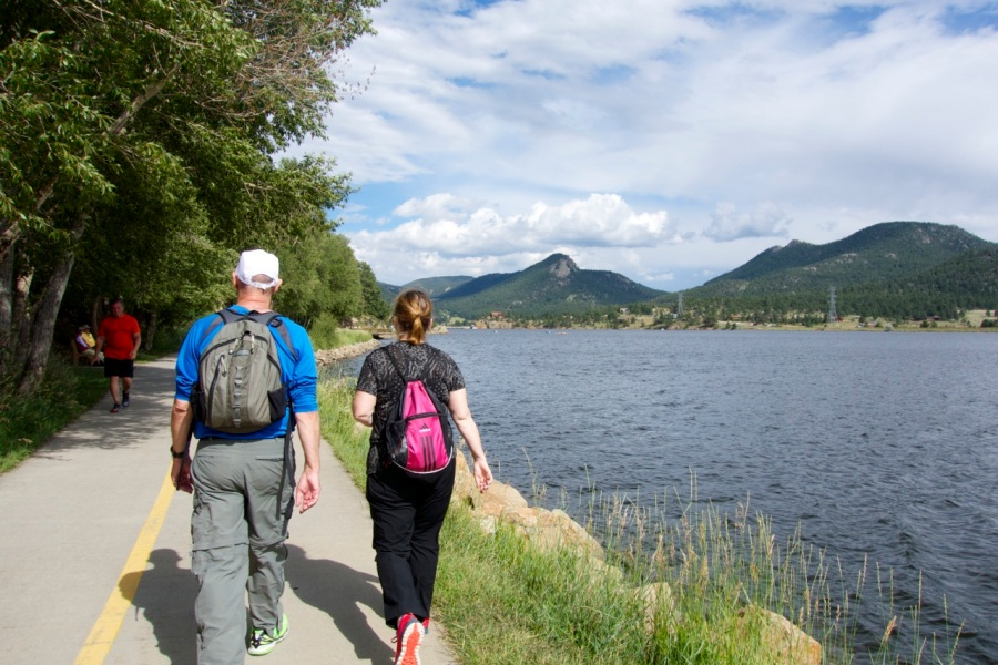 Estes Lake   Intentional Travelers
