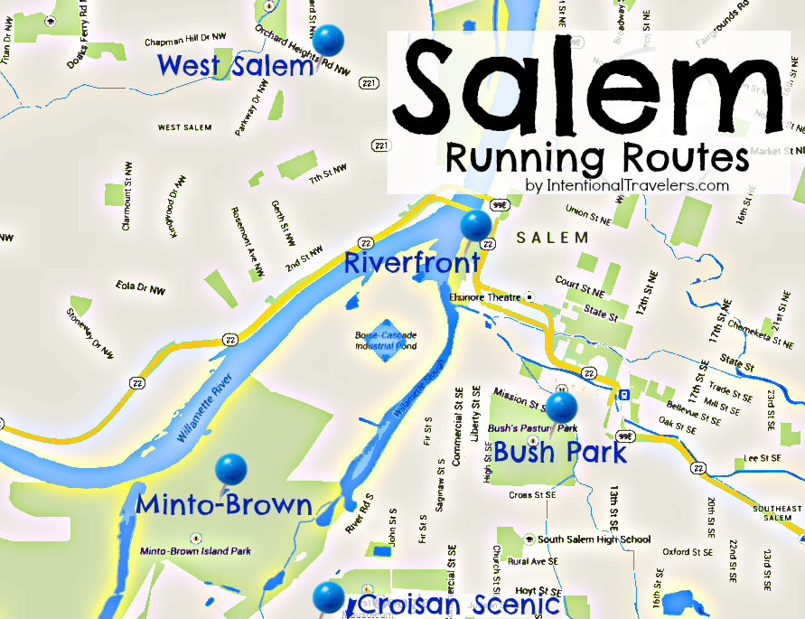 5 Favorite Places To Run Or Walk In Salem Oregon
