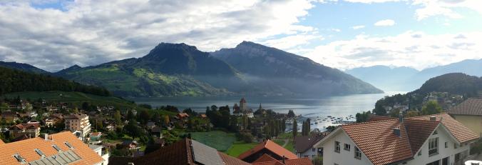 Spiez, Swiss Alps, Switzerland Panoramas | Intentional Travelers
